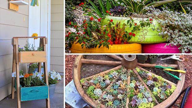16 Super Creative DIY Planter Ideas For Your Garden