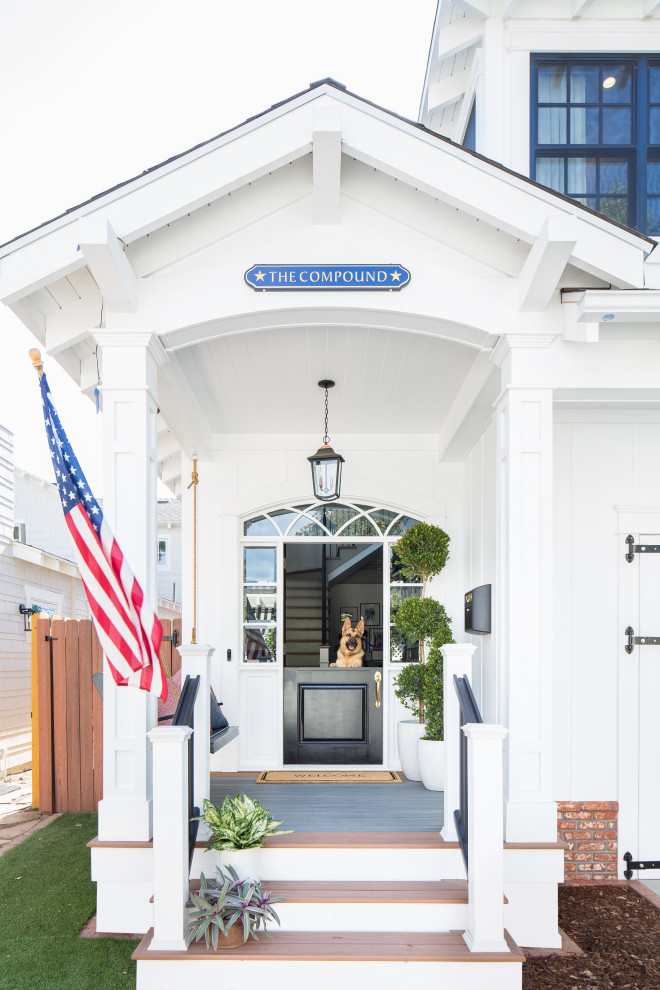18 Captivating Coastal Entrance Designs You Just Can't Pass Up