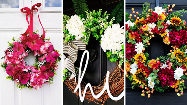 18 Fresh Floral Summer Wreath Designs You're Gonna Fall In Love With