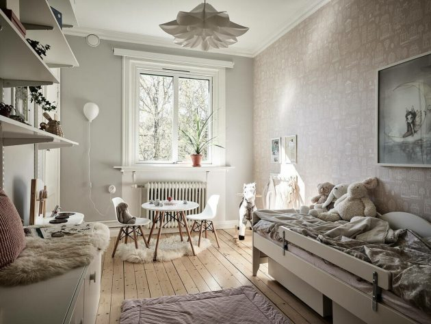Gorgeous Bedroom For The Little Ones
