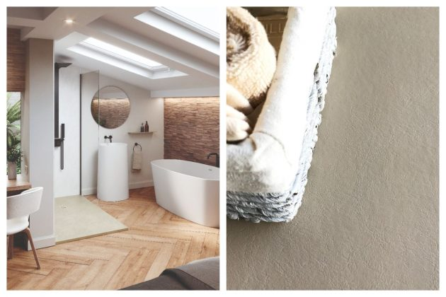 Playing With Textures That Lead To A New Bathroom
