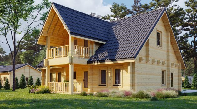 The Log House Charm – Now In The Prefab Industry