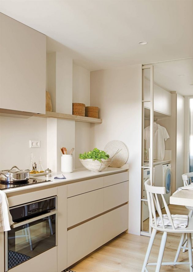 An Apartment With Fabulous Kitchen And Glazed Bathrooms To Copy