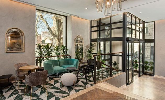 Natural And Fresh Hotel In The Heart Of Rome