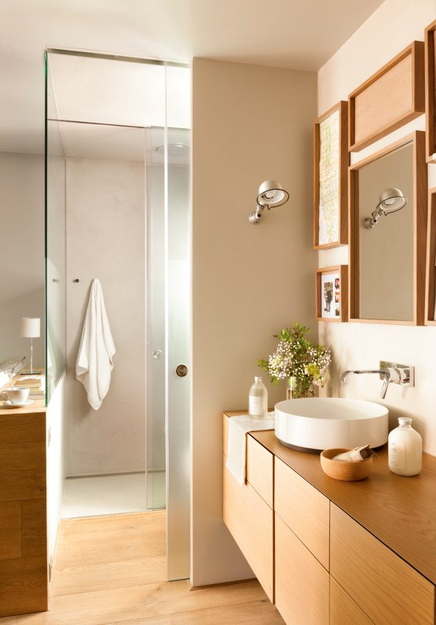 9 Comfortable Bathrooms With Showers Of All Styles