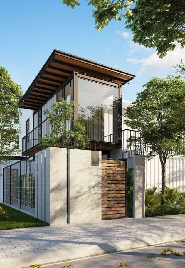 Features Of Modern Facades To Get Inspired