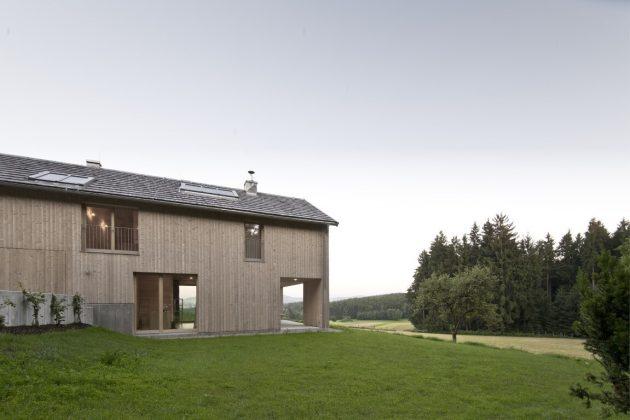 D. Residence by LP Architektur in Lengau, Austria