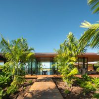 Hale Lana House by Olson Kundig in Hawaii, USA