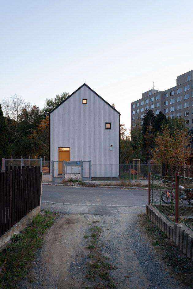 House over the Backyard by DDAANN in Prague, Czech Republic
