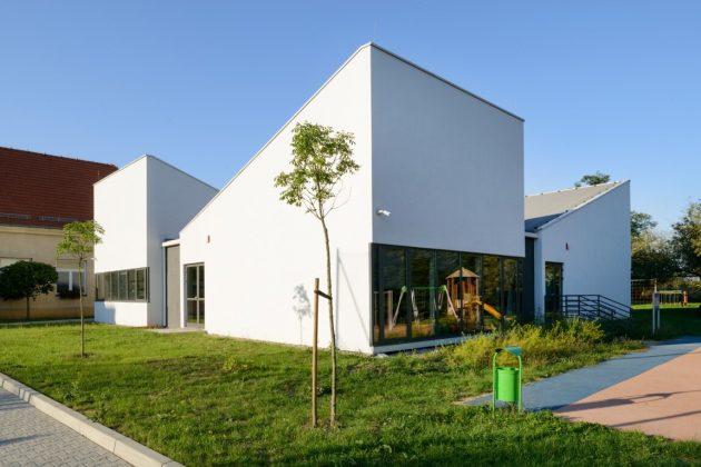 Modular Kindergarten Project by Franta Group in Krakow, Poland