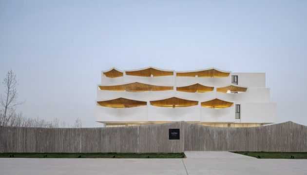 Sky Yards Hotel by Domain Architects in Henan Province, China