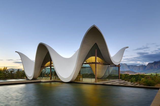 Modern Contemporary Architecture Of Wedding Venues Is Inspiring Unique Wedding Invitation Ideas