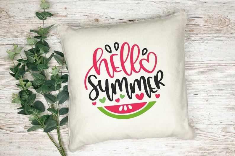 16 Colorful Summer Pillow Covers To Add To Your Décor