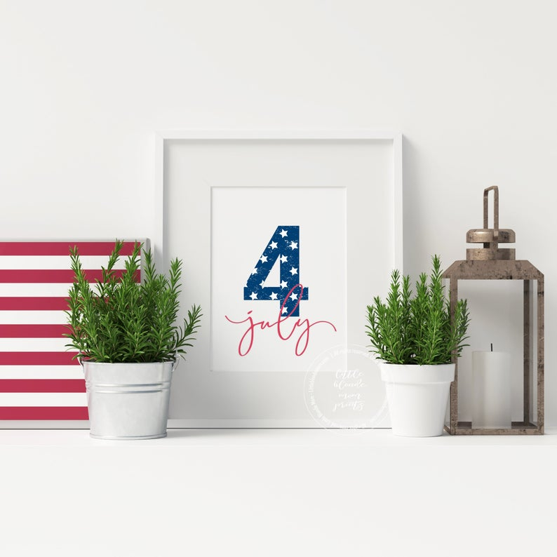 16 Festive Americana-Style 4th of July Décor You Will Love