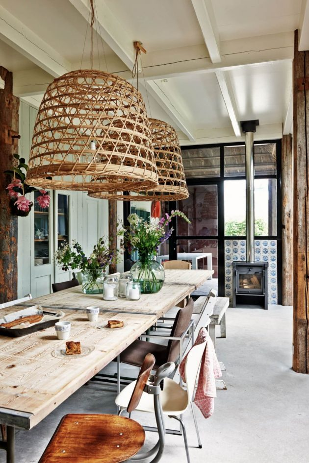 Rattan Pendant Lights Are The Absolute Trend