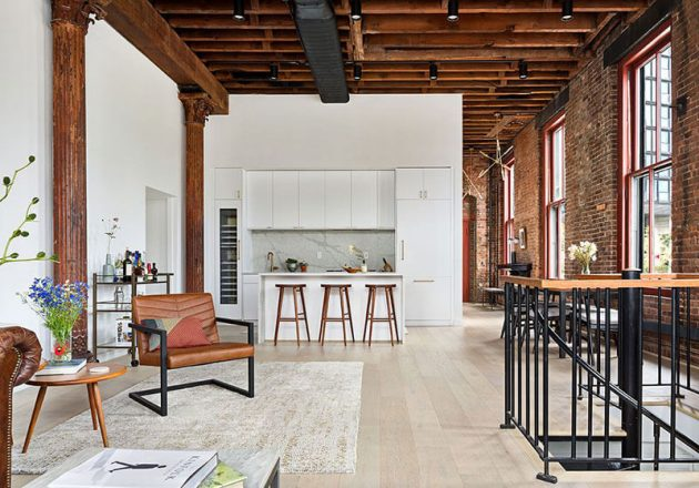 The Perfect Loft With Crazy Charm Is In New York