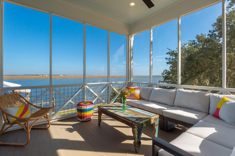 20 Incredible Coastal Porch Designs For Proper Beach Living