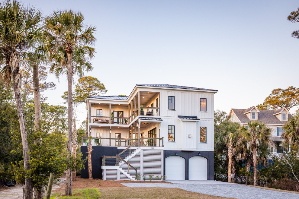 20 Unbelievable Coastal Home Exterior Designs That Will Take Your Breath Away