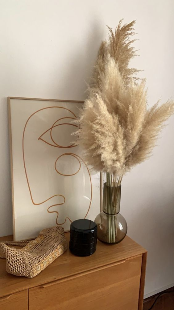 Still A Decorative Trend - Herbs From The Pampas