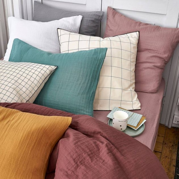The Must Have At Decoration - The Cotton Gauze Bed Linen