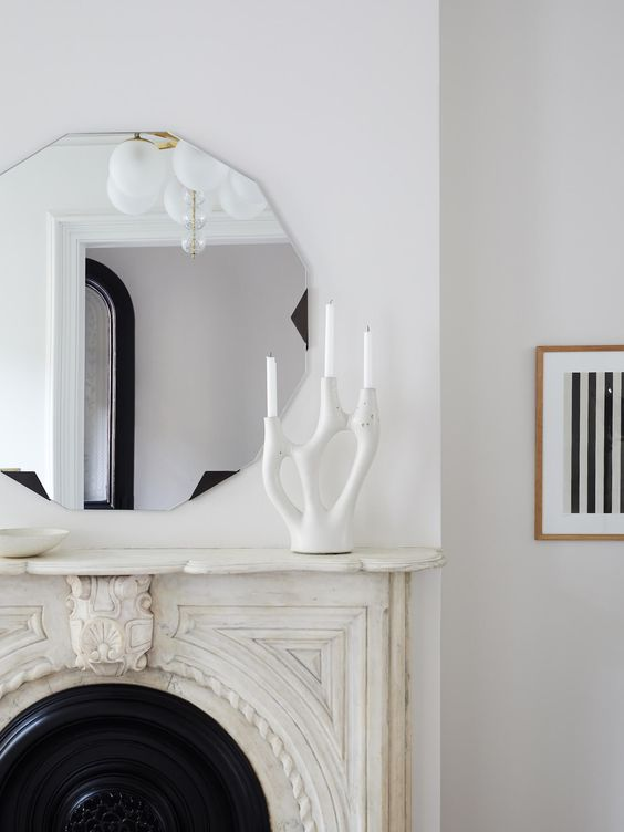 Which Mirror To Sit On Top Of A Fireplace