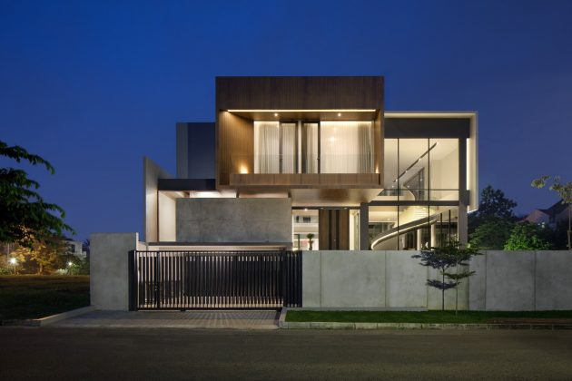 BP House by Rakta Studio in the Serpong Sub-District of Indonesia