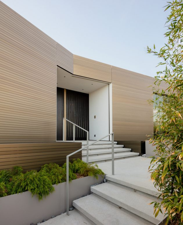 Bronze House on Nightingale by SPF: Architects in Los Angeles, California