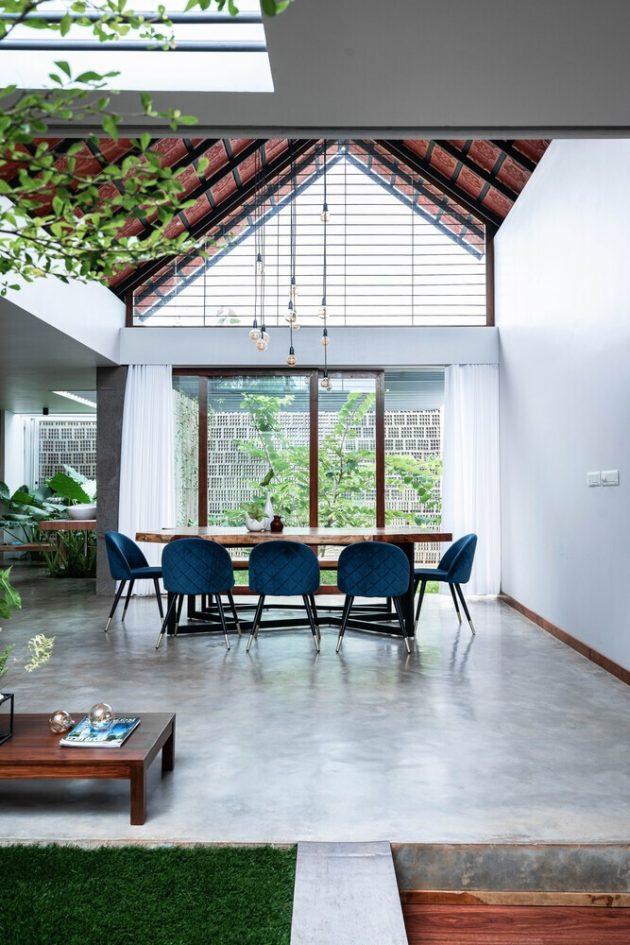 CAER House by Encasa Studio in Mampad, India