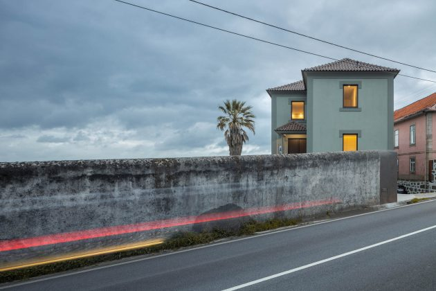 Green House - Rehabilitate the memory and identity of a house in Santo Tirso