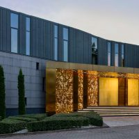 Silver Pine Residence by SAOTA in Moscow, Russia