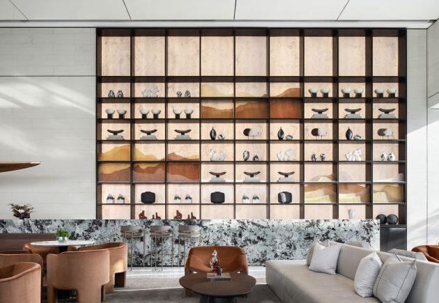 Starry Metropolis Interior Design by Mind Design in Lanzhou, China