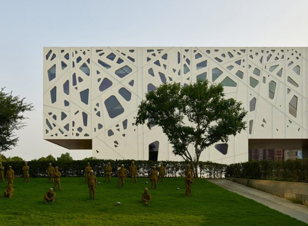The Central Ring Gallery by Studio A+ in Hefei, China