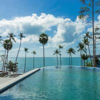 A complex of cascading pools will be one of the largest of its kind on Koh Samui