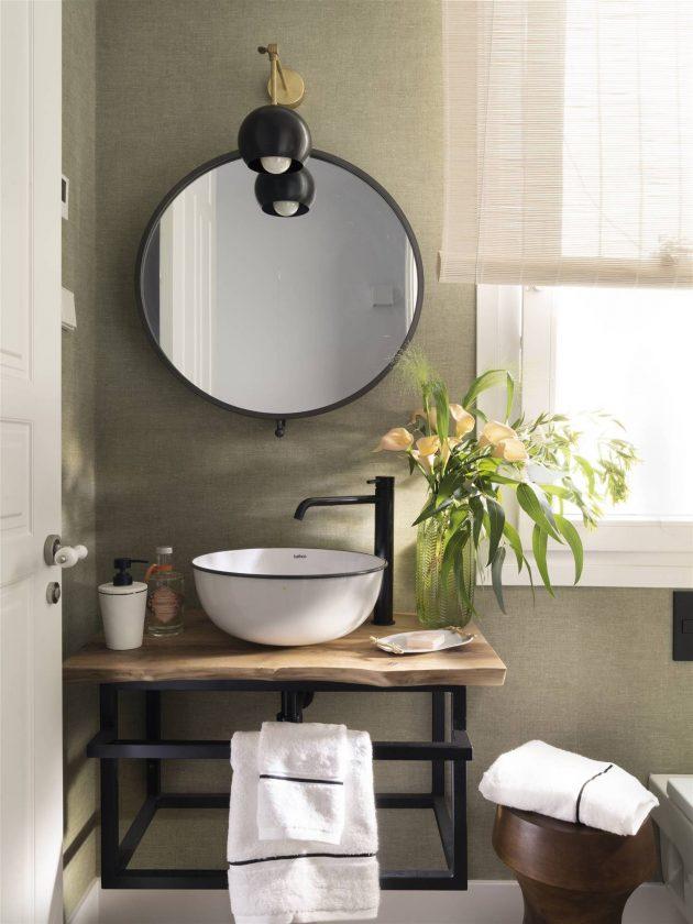 Decorative Ideas On Bathroom Sconces