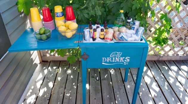12 Fantastic Beverage Cooler Ideas For Your Patio