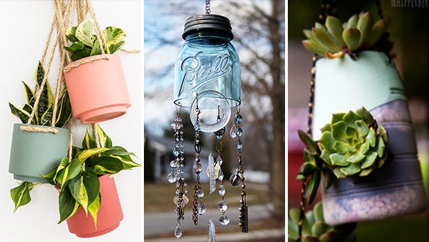 14 Awesome DIY Hanging Décor Ideas For Your Backyard