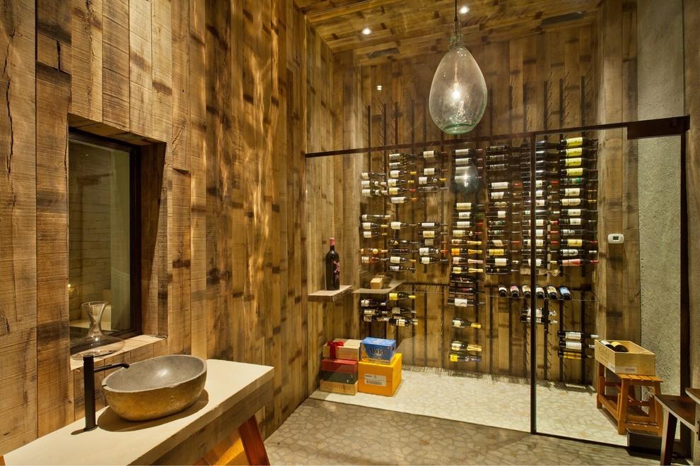 15 Opulent Industrial Wine Cellar Designs That Set A Standard