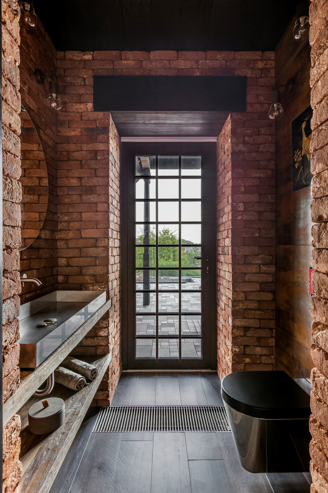 15 Sophisticated Industrial Powder Room Designs You Didn't Expect