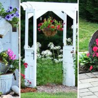 16 Delightful DIY Garden Decorations For A Farmhouse Look