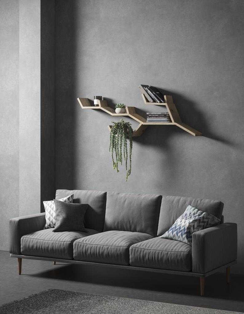 16 Interesting Wall Shelf Designs You Don't See Everyday