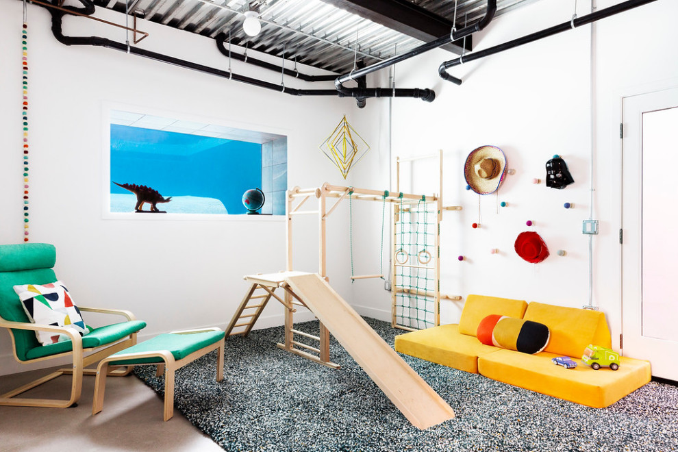 16 Super Cool Industrial Kids' Room Designs You Will Love
