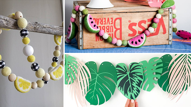 16 Sweet Summer Garland Designs That Can Refresh Your Home