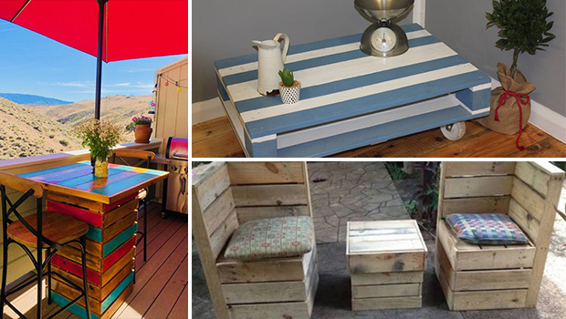 16 Useful Pallet Crafts For Your Patio