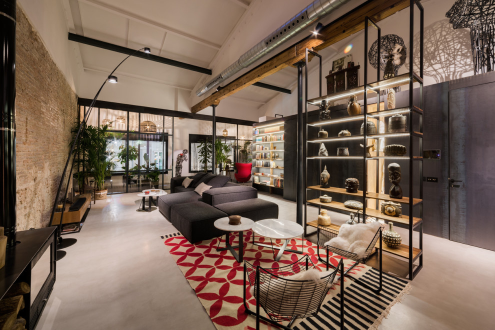 18 Gorgeous Industrial Living Room Designs That Will Draw You In