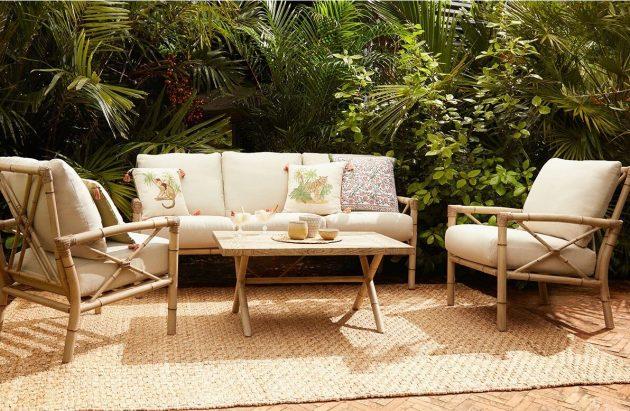 The Trendiest Bohemian Garden Set