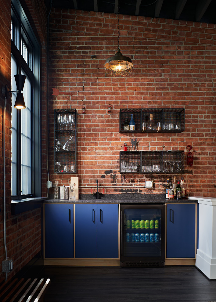 20 Lavish Industrial Home Bar Designs You Will Definitely Fall For