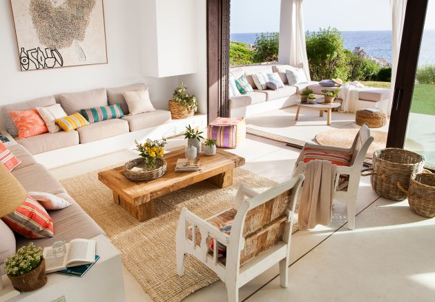 The Best Cozy And Summer Living Rooms (Part II)