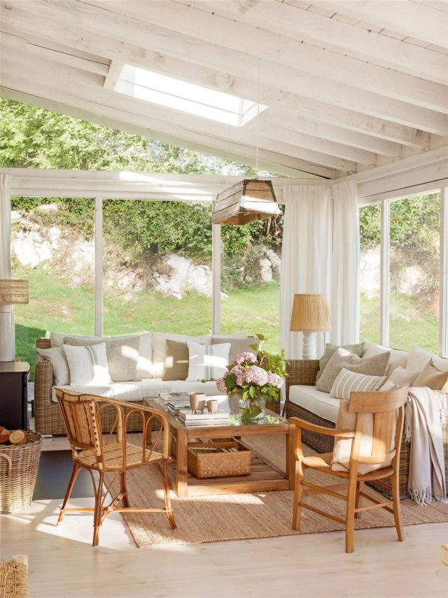 The Best Cozy And Summer Living Rooms (Part I)