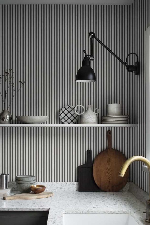 Advantages Of Having A Stripped Wallpaper