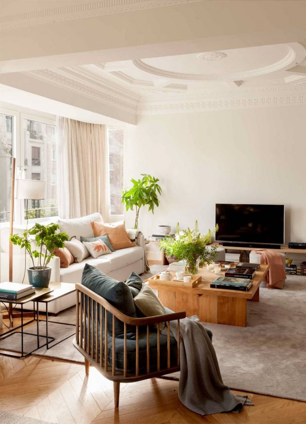 The Perfect TV Cabinet To Match The Style Of The Living Room